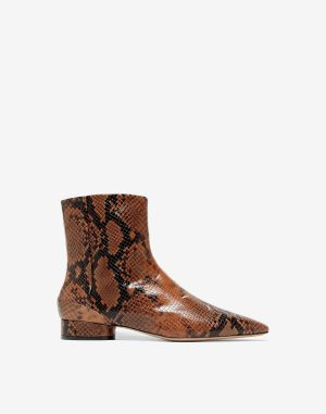 Maison Margiela Ankle Boots Brown