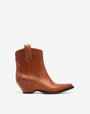 Maison Margiela Ankle Boots Tan