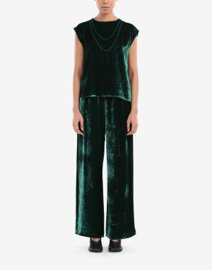 Mm6 By Maison Margiela Top Emerald Green