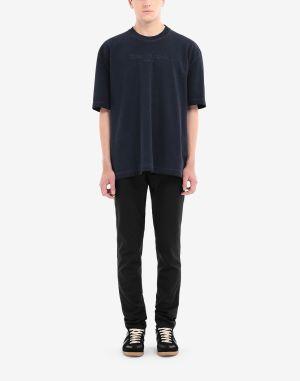 Maison Margiela Short Sleeve T-shirt Dark Blue