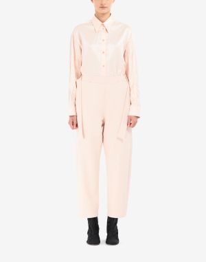 Mm6 By Maison Margiela Casual Pants Light Pink