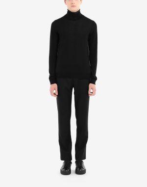Maison Margiela High Neck Sweater Black