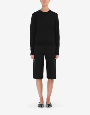 Maison Margiela Crewneck Sweater Black