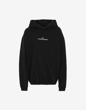 Maison Margiela Hooded Sweatshirt Black Cotton