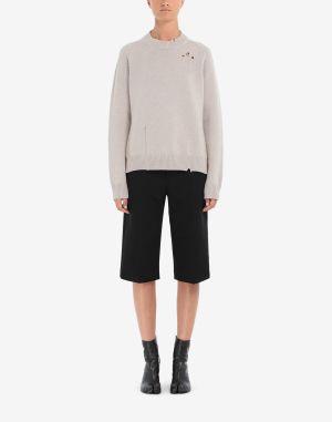 Maison Margiela Crewneck Sweater Beige