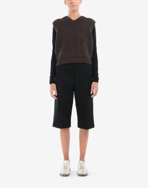 Maison Margiela V-neck Sweater Brown