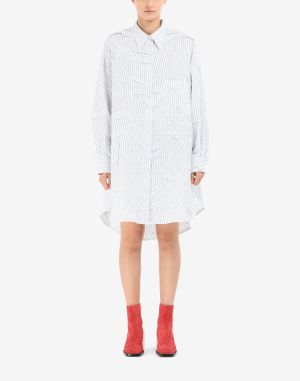 Mm6 By Maison Margiela Dress Blue
