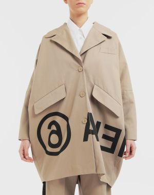 Mm6 By Maison Margiela Coats And Trenches Beige