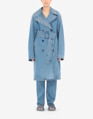 Mm6 By Maison Margiela Coats And Trenches Blue