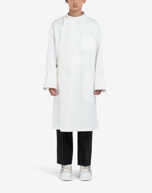 Maison Margiela Coats And Trenches White
