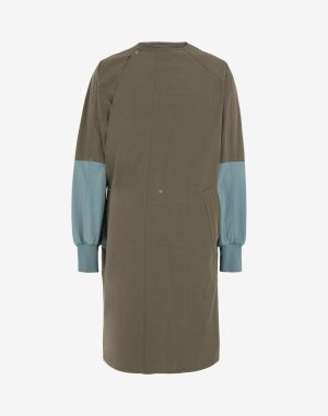 Maison Margiela Coats And Trenches Military Green Cotton