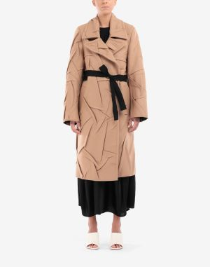 Mm6 By Maison Margiela Coats And Trenches Camel