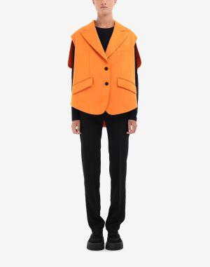 Mm6 By Maison Margiela Blazer Orange