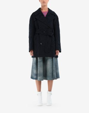 Mm6 By Maison Margiela Coats And Trenches Dark Blue
