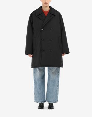 Maison Margiela Coats And Trenches Black