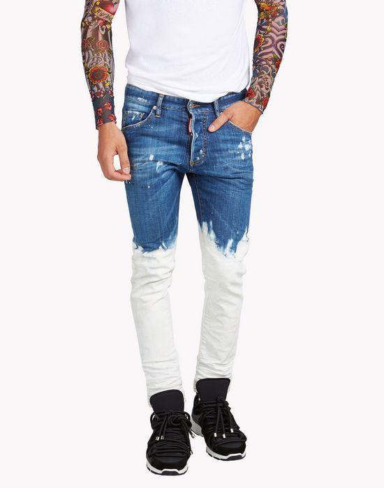 Homme Pantalons En Jean Dsquared2 Boutique En Ligne