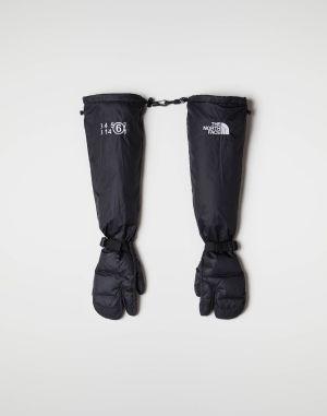Mm6 By Maison Margiela Gloves Black Polyamide