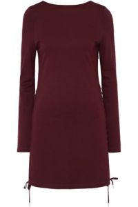 McQ Alexander McQueen   Sale up to 70  off   US   THE OUTNET McQ Alexander McQueen Lace up stretch knit mini dress