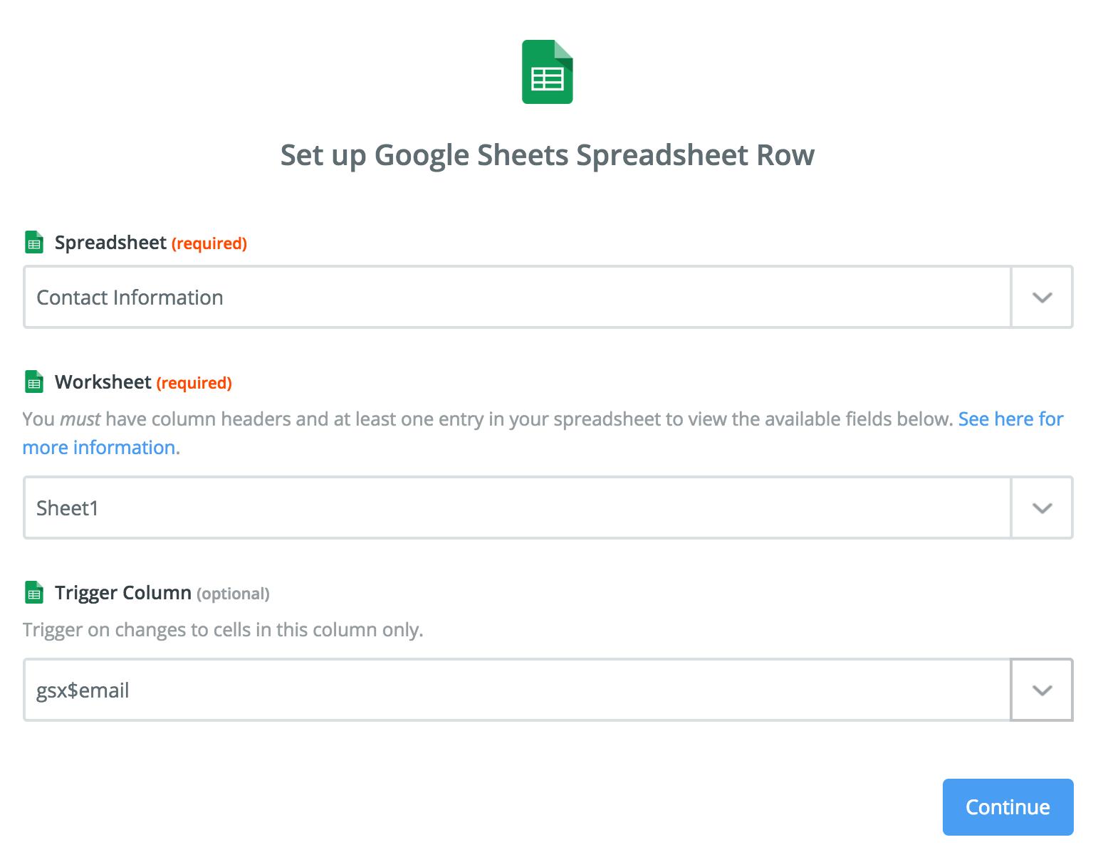 Google Sheets Tegr Ti Help Supp T Z Pier