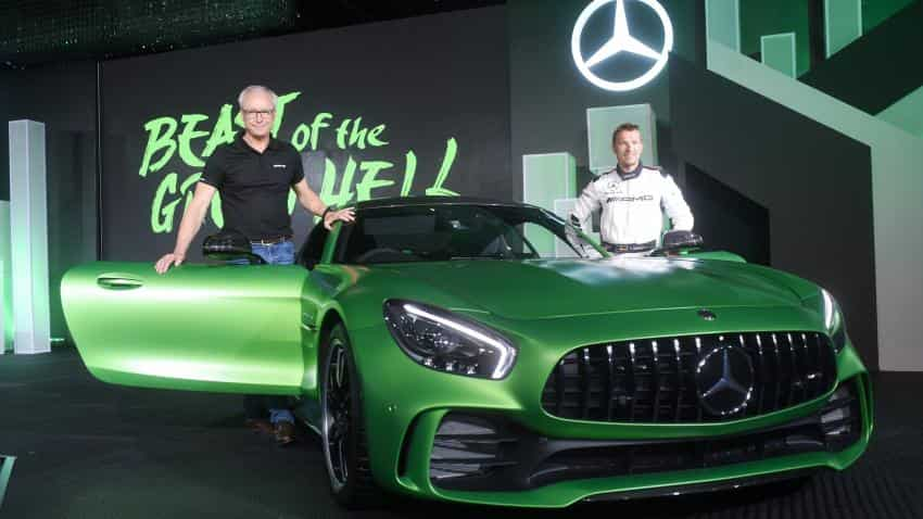 Mercedes Benz Launches Amg Gt R Amg Gt Roadster In India