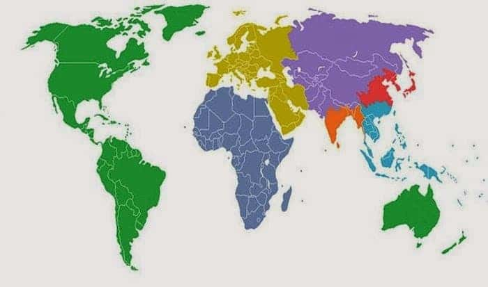 Making sense of the world in 14 Maps Global map