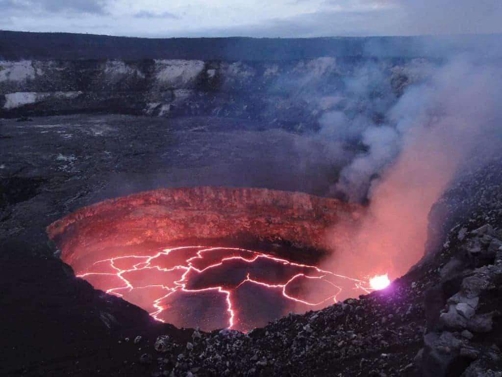 Earthquake Swarm Indicates Lava Build Up At Kilauea Volcanoes