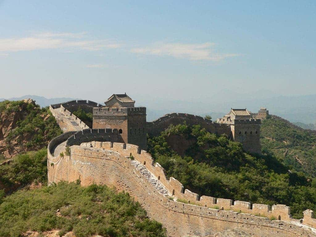 The Great Wall Of China Is Slowly Wasting Away