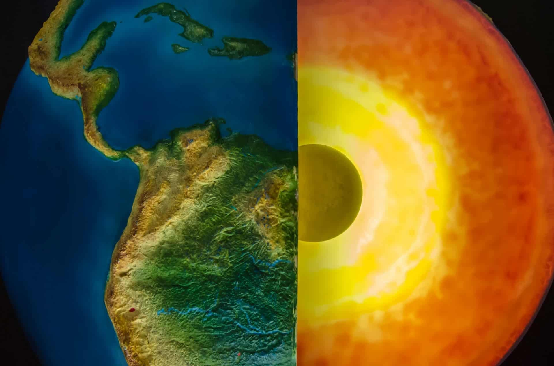 Why Earth S Iron Rich Inner Core Is Solid Despite It S