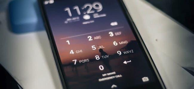 smartphone PIN