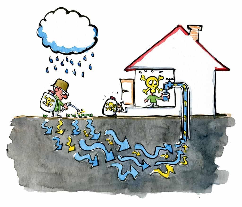 Water Pollution Cartoon Talking