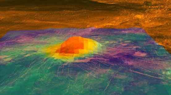 Venus may still be volcanically active