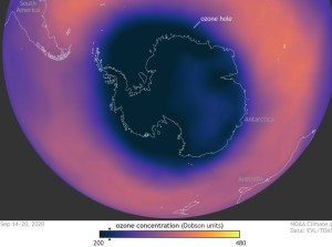 the 2020 ozone layer hole has closed