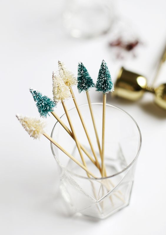 the merry thought cocktail sticks