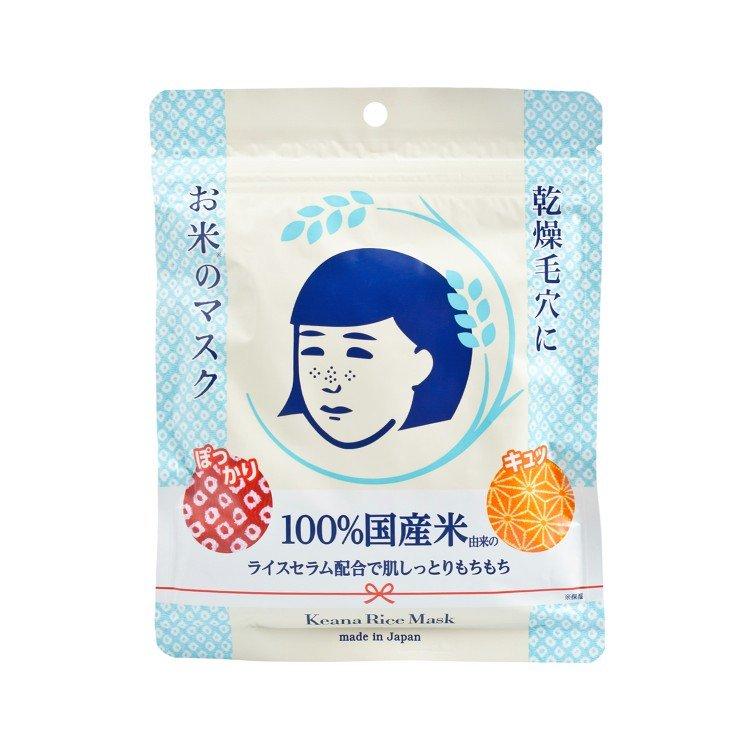 石澤研究所   毛穴撫子日本米精華保濕面膜   士多 Ztore