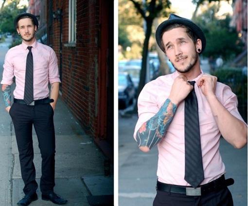 【粉絲大哉問】粉紅色襯衫該搭什麼樣的褲子? | manfashion這樣變型男
