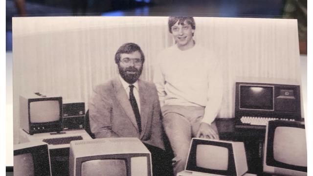 Foto muda Gates dan Allen