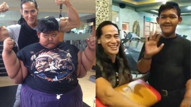 7 Potret Perjuangan Arya Permana Turunkan Berat Badan Hingga 110 kg