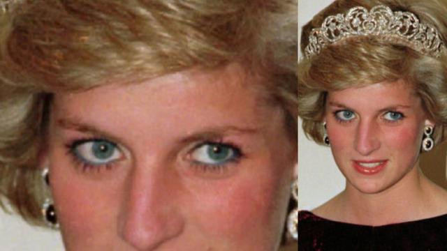 Mata indah milik mendiang Putri Diana (AP)