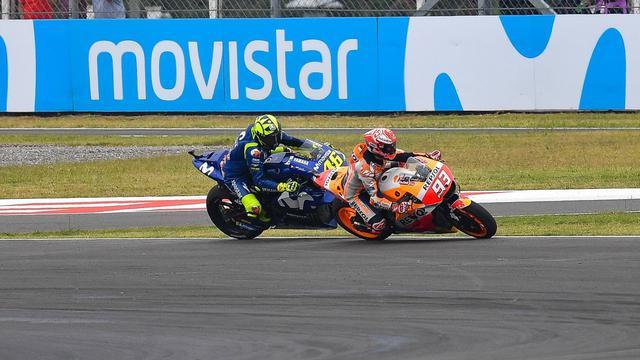 MotoGP, Valentino Rossi, Marc Marquez