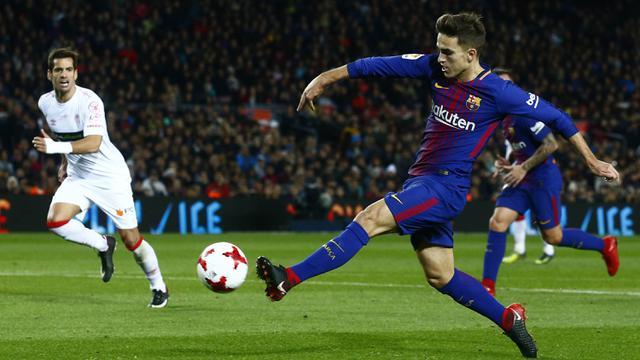 FOTO: Tanpa Lionel Messi, Barcelona Berhasil Cukur Murcia