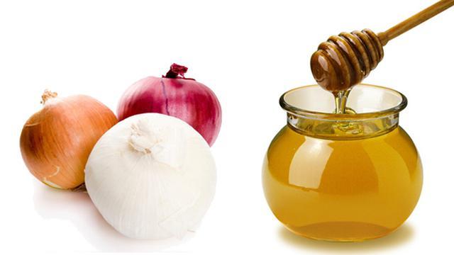 jus bawang dan madu
