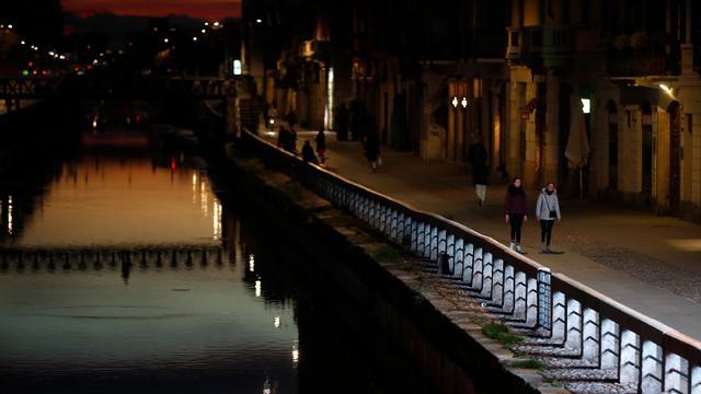 Virus Corona Ubah Kehidupan Malam di Milan