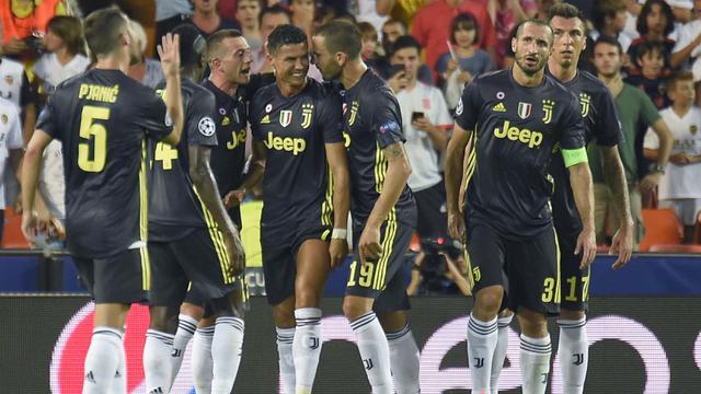 Juventus, Valencia, Liga Champions