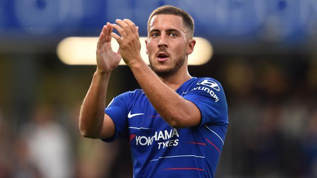 FOTO: Top Scorer Sementara Premier League 2018/2019, Hazard dan Mitrovic Bersaing