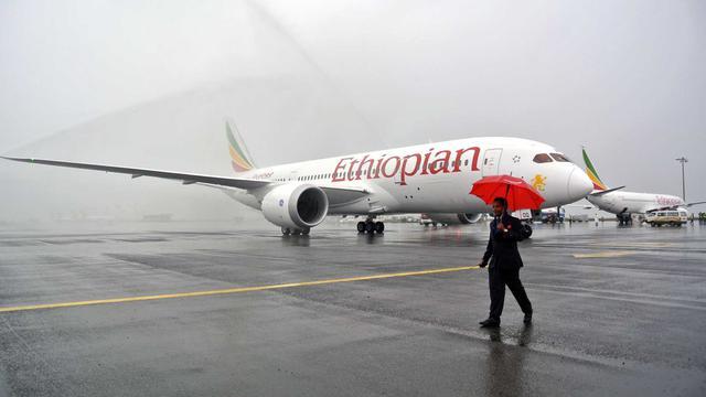 Pesawat Ethiopian Airlines (AFP/Jenny Vaughan)