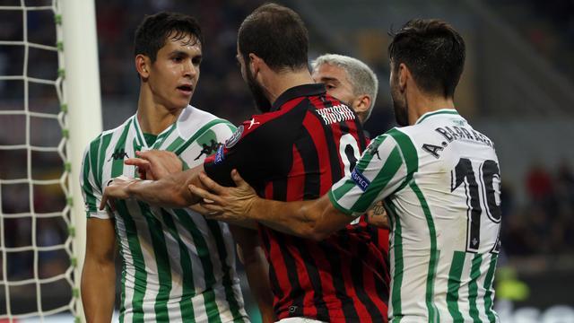 AC Milan Vs Real Betis