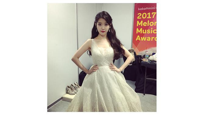 Lee Ji Eun atau IU berulang tahun ke 26 tahun hari ini (Sumber: Instagram/@dlwlrma)