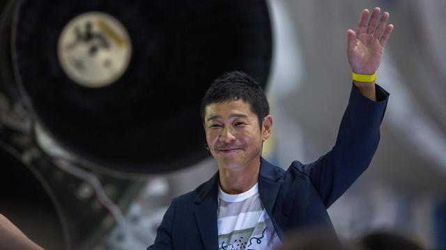 Miliarder Jepang Yusaku Maezawa