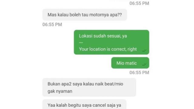7 Chat Penumpang Ojol Ini Agak Sombong, Ngeselin