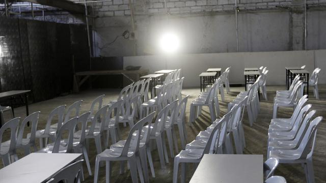Ruang Pers Stadion Rizal Memorial